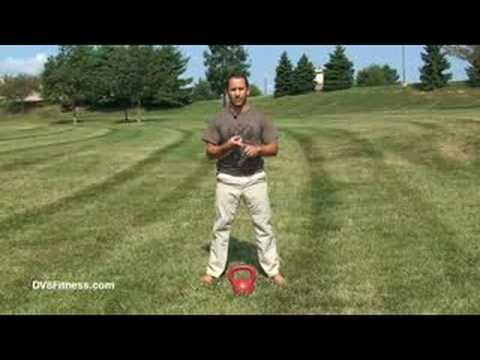 Kettlebell Basics - Two Arm Kettlebell Swing