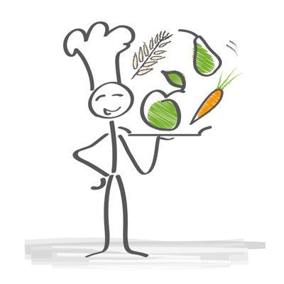 Makronährstoffe: viel Eiweiß, wenig Kohlenhydrate