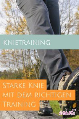 nachhaltiges Knietraining für starke Knie