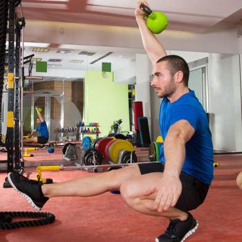 effektives Training Muskelaufbau Kettlebell